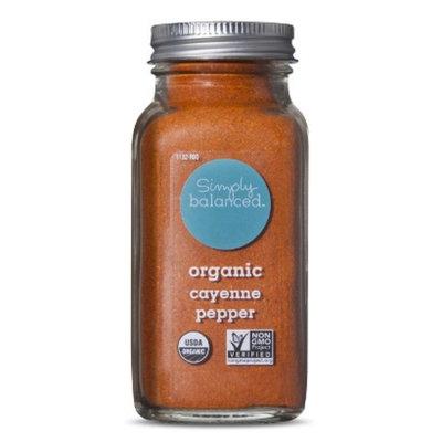 Simply Balanced Organic Ground Cayenne Pepper 2.8oz