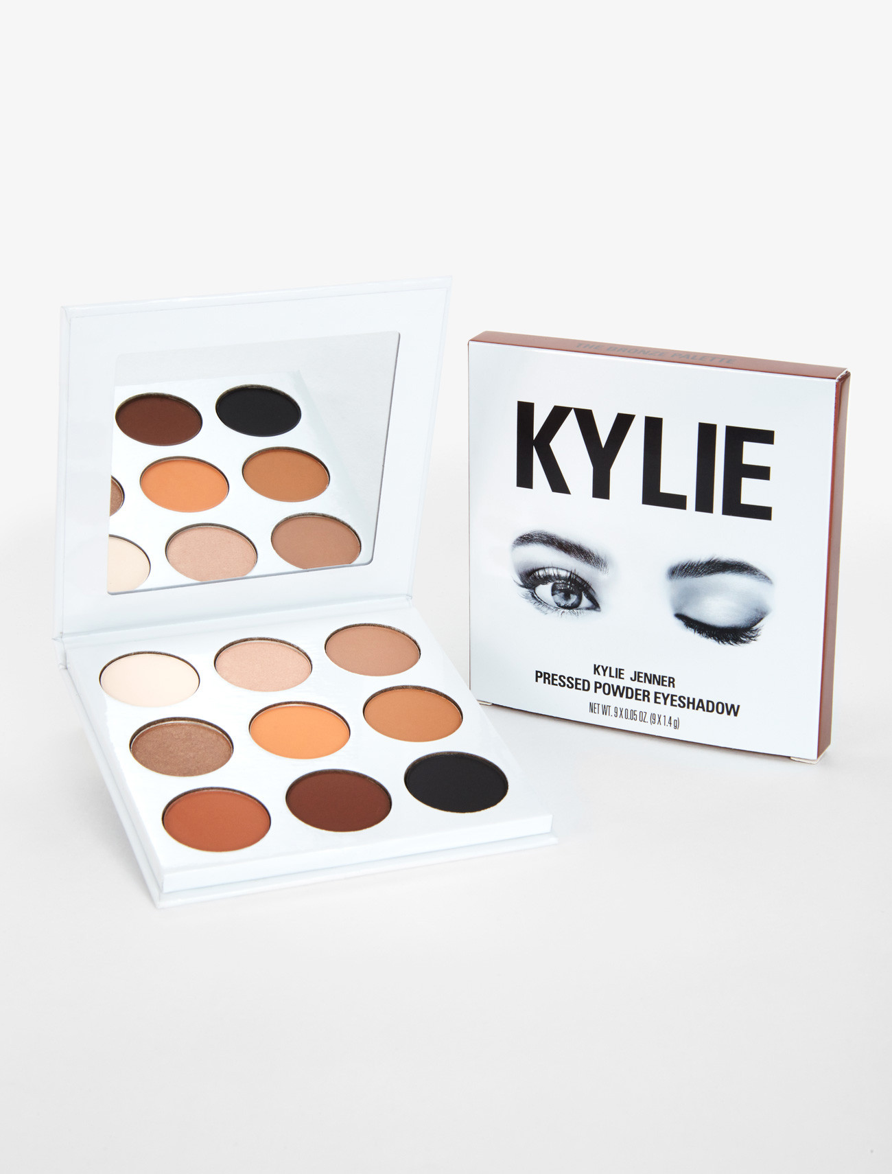 Kylie Cosmetics℠ By Kylie Jenner Eyes The Bronze Palette | Kyshadow