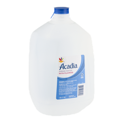 Acadia Spring Water with Fluoride