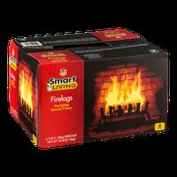 Smart Living Firelogs - 6 CT
