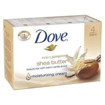 Dove Beauty Dove Shea Butter Bar Soap - 4 Bars