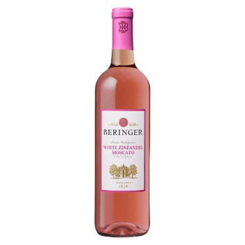 Beringer White Zinfandel Moscato Wine 750 ml