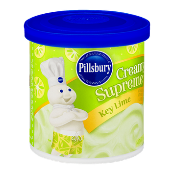 Pillsbury Creamy Supreme Key Lime Frosting