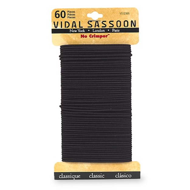 Vidal Sassoon Medium No Crimper Elastics