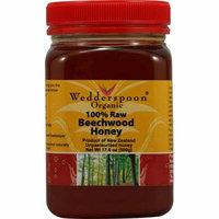 Wedderspoon Organic Raw Beechwood Honey 17.6 oz