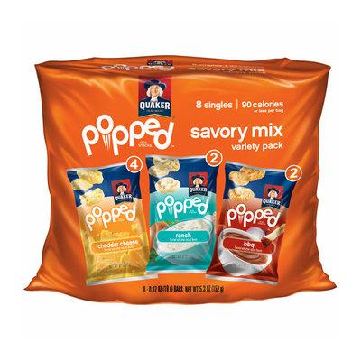 Quaker Popped Savory Mix Rice Snacks Variety Pack