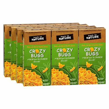 Back to Nature Crazy Bugs Macaroni & Cheese Dinner 12 Pack