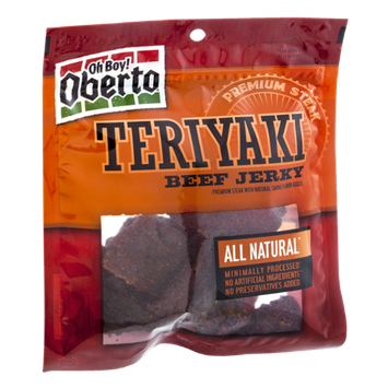 Oh Boy! Oberto All Natural Teriyaki Beef Jerky