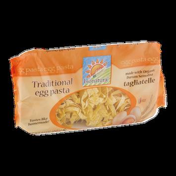 Bionaturae Traditional Egg Pasta  Tagliatelle
