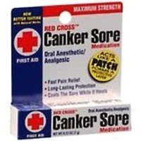 Red Cross Canker Sore Medication - 0.25 Oz