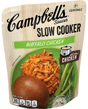 Campbell's® Buffalo Chicken Slow Cooker Sauce