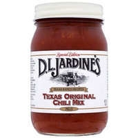 Jardines Chili Mix, Cowboy Kettle, 24-Ounce Glass Jars (Pack of 3)