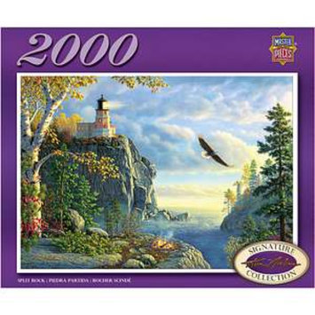 Masterpieces Puzzles Kim Norlien Split Rock 2000 Pcs Ages 13+