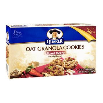 Quaker Oat Granola Mixed Berry Cookies - 7 CT