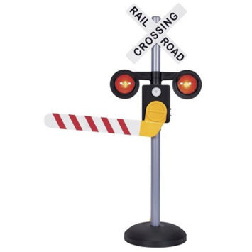 Pavlov'z Toyz Motion Activated Talking Railroad Crossing