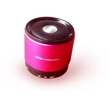 Worry Free Gadgets WFG-BTSPK-PNK Bluetooth Mini Speaker - Pink