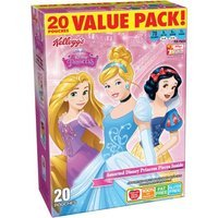 Kellogg Company Kellogg's Disney Princess Fruit Flavored Snacks, 20 count, 16 oz, (Pack of 6)