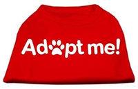 Ahi Adopt Me Screen Print Shirt Red Lg (14)