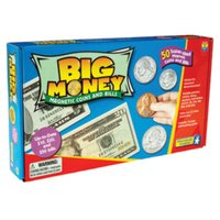 Educational Insights Big Money-Magnetic Coins & Bills