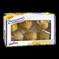 Entenmann's Corn Muffins - 6 CT