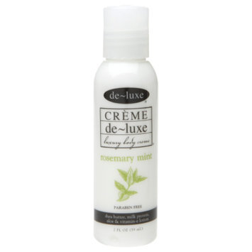 de-luxe Travel Size CREME Body Lotion