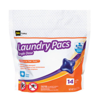 DG Home Laundry Pacs Single Dose - 14 Pack