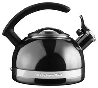 KitchenAid 2.0 Quart Porcelain Enamel Kettle - Pyrite