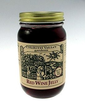 Cherith Valley Gardens RW10 Red Wine Jelly 10 oz