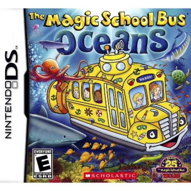 DS Game Magic School Bus Oceans