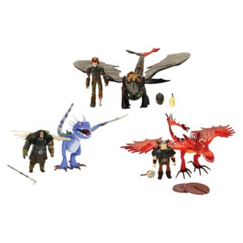 Spin Master Toys How to Train Your Dragon to Ultimate Dragon Heroes Team Set (Target