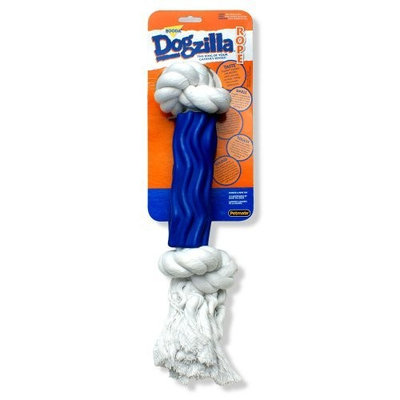 Booda Petmate Dogzilla Rope Dog Toy Swirl, Large