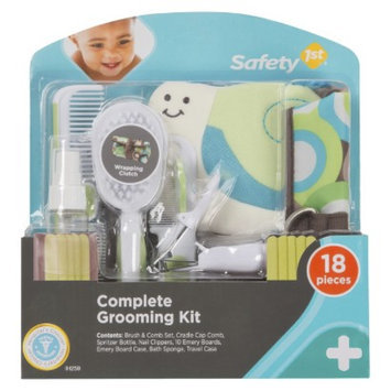 Safety 1st 18pc Complete Baby Care Grooming Kit with Case - Green/Blue