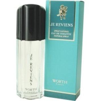 Je Reviens By Worth For Women. Eau De Toilette Spray 1.7 Ounces