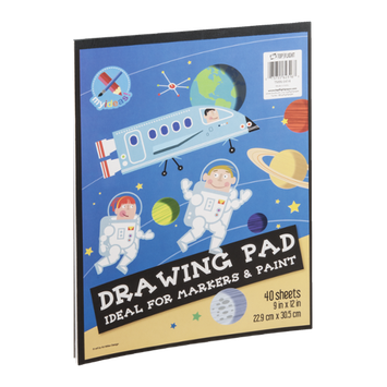 Top Flight Drawing Pad - 40 CT