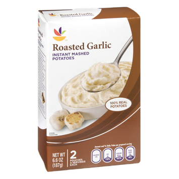 Ahold Roasted Garlic Instant Mashed Potatoes - 2 CT