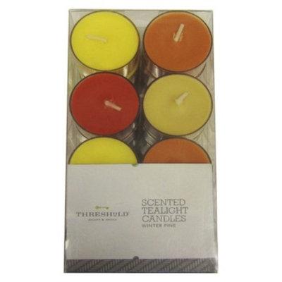 Pacific Trade Threshold Basic 24pk Tealight - Citron