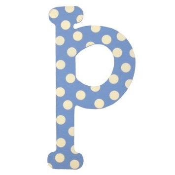 My Baby Sam Blue Polka Dot Letter - p