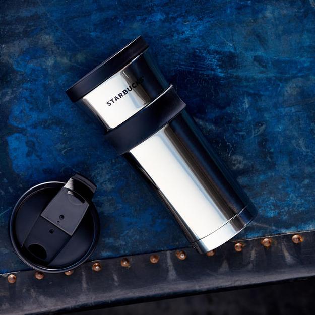 Stainless Steel Tumbler - High Polish, 16 fl oz Starbucks Drinkware