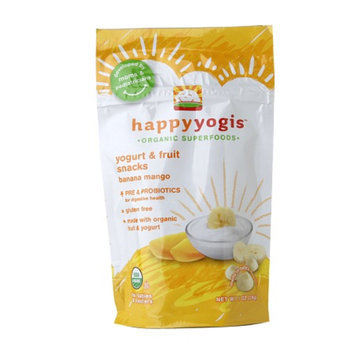 Happy Melts Organic Yogurt & Fruit Snacks for Babies & Toddlers