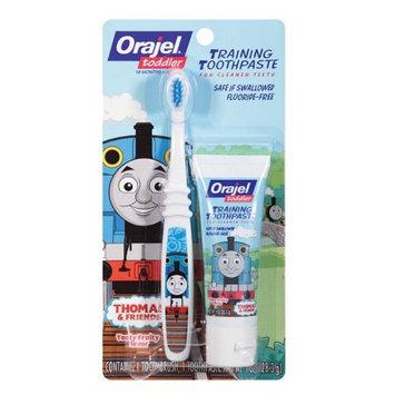 Orajel Toddler Thomas Toddler Training Toothpaste with Toothbrush