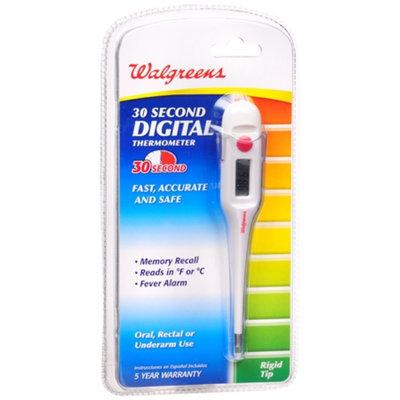 Walgreens 30 Sec Rigid Thermometer