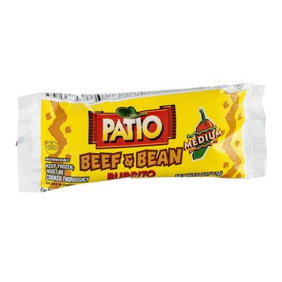 Patio Burrito Beef & Bean Medium
