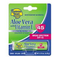 Banana Boat Aloe Vera with Vitamin E Sunscreen Lip Balm