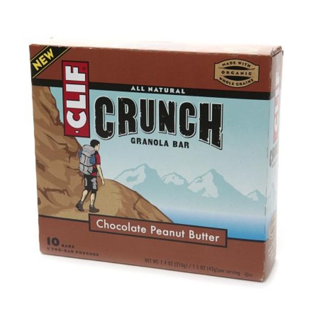 Clif Crunch All Natural Granola Bars