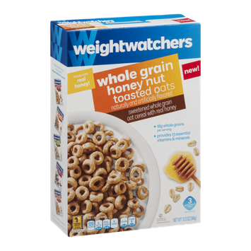 Weight Watchers Cereal Whole Grain Honey Nut Toasted Oats