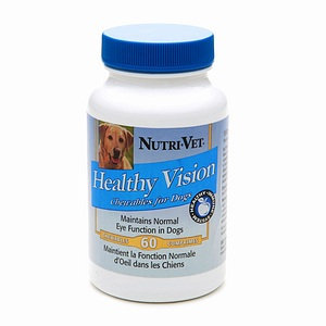 Nutri-Vet Healthy Vision Chewables for Dogs