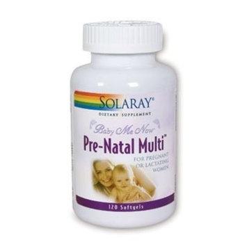 Solaray Baby Me Now Prenatal Multi-Supplement, 120 Count