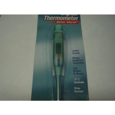 Lami Digital Thermometer Fever Alarm,certified Accurate,safe No Glass, Beeps When Ready to Read.