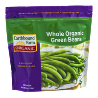 Earthbound Farm Organic Whole Organic Green Beans