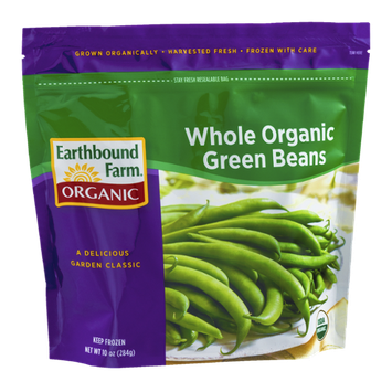 Earthbound Farm Organic Whole Organic Green Beans